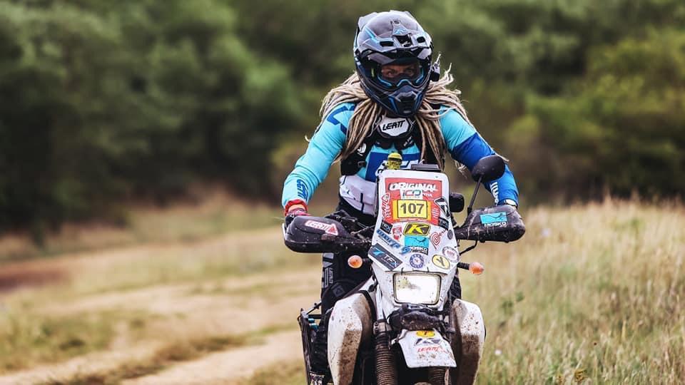 Egle Gerulaitytė, female rider, adv rider